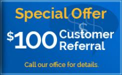 $100 Customer Referral